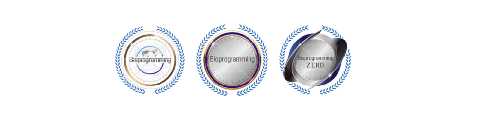 Bioprogramming製品の正規品を購入できるサイトに付与されるマーク