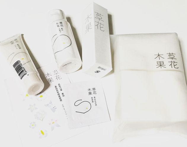 白花八草のトライアルセットの画像